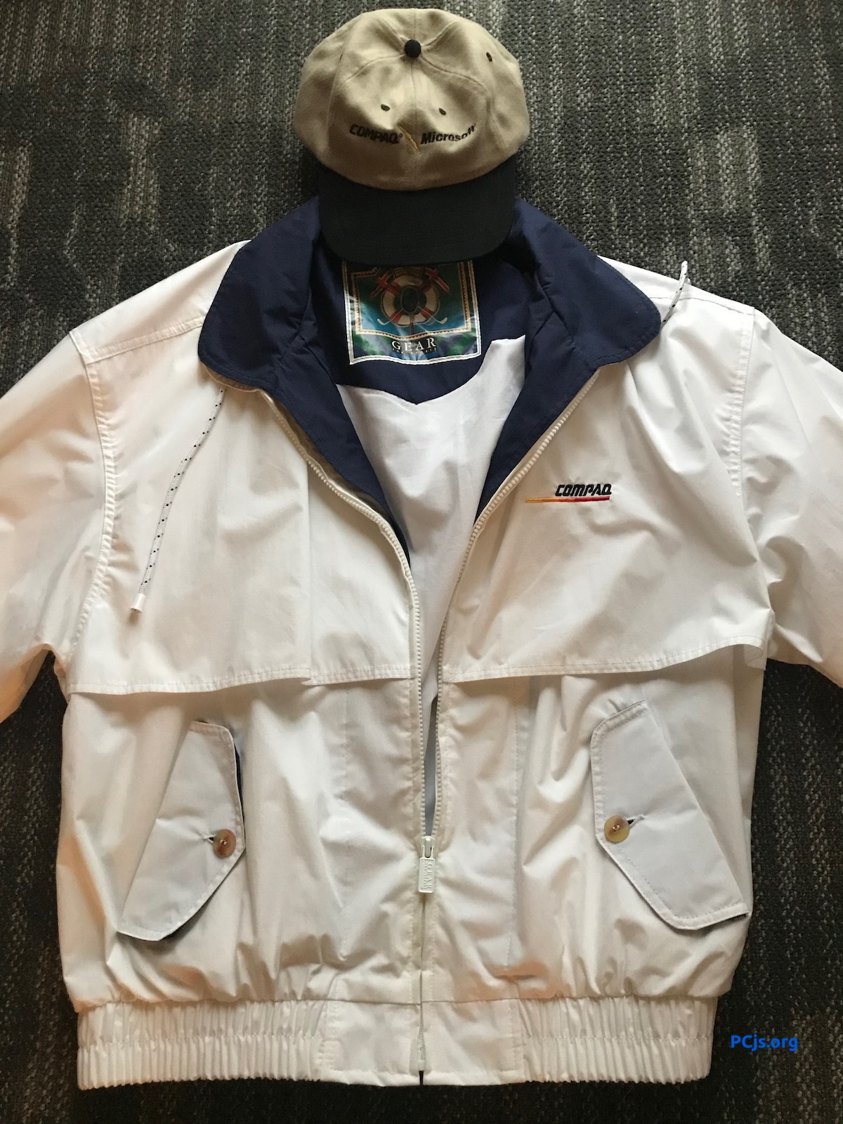 COMPAQ Jacket and Cap