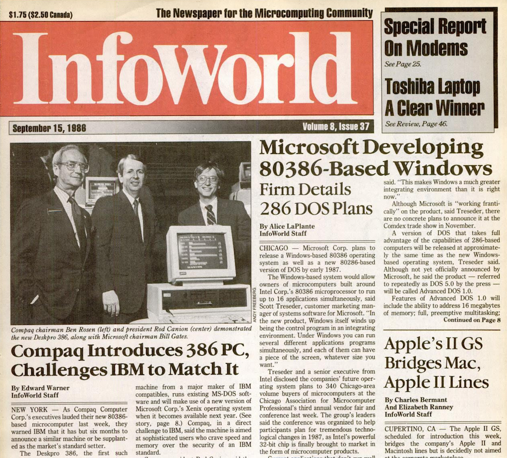 InfoWorld - September 9, 1986
