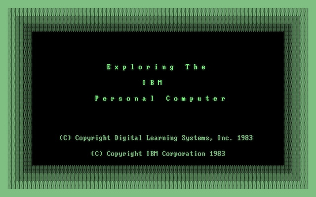 Exploring the IBM PC (Intro