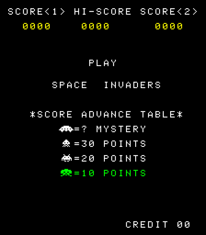 Space Invaders (Sharper)