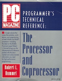 PC Magazine Programmer's Technical Reference: The Processor and Coprocessor