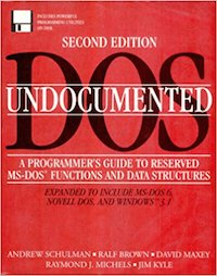 Undocumented DOS (2nd Edition)