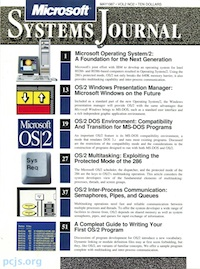 Microsoft Systems Journal, May 1987