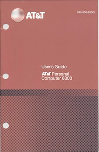 AT&T 6300 User's Guide