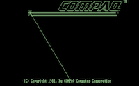 COMPAQ Portable with Monochrome Graphics (1983)