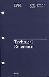 IBM 4860 Technical Reference (Nov 1983)