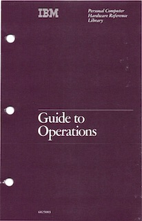 IBM 5150 Guide to Operations (Aug 1981)