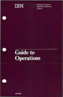 IBM 5150 Guide to Operations (Apr 1984)