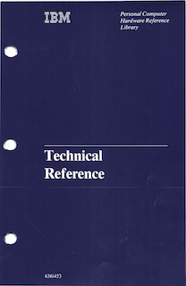 IBM 5150 Technical Reference (Apr 1984)