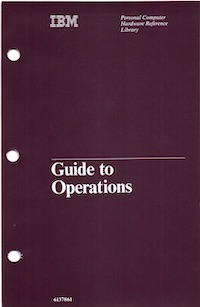 IBM 5160 Guide to Operations (Apr 1984)