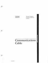 IBM 5170 Communications Cable