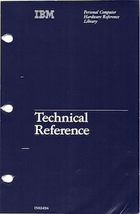 IBM 5170 Technical Reference, March 1984