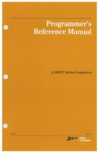 Programmer's Reference Manual (Z-100 Series)