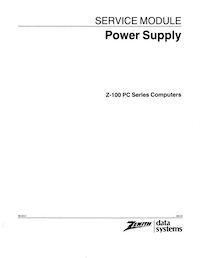 Z-150 Service Manuals