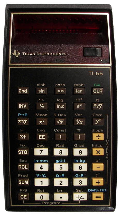 TI-55 Programmable Calculator