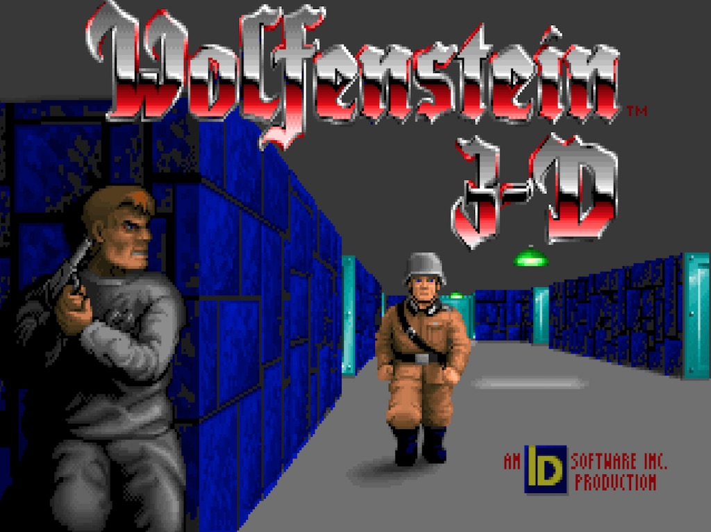 Wolfenstein 3D 1.4 Intro Screenshot