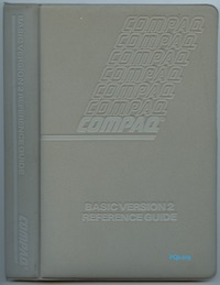 COMPAQ BASIC Version 2 Reference Guide (Oct 1984)