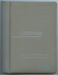 COMPAQ MS-DOS Version 2 Reference Guide (Oct 1984)
