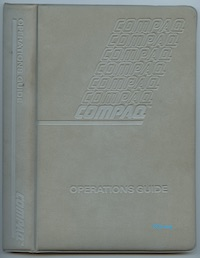 COMPAQ Operations Guide (Oct 1984)