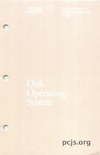 IBM PC Disk Operating System 1.10