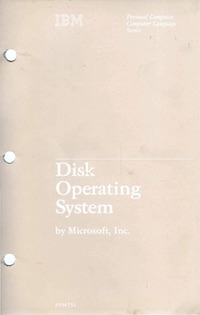 IBM PC Disk Operating System 2.00